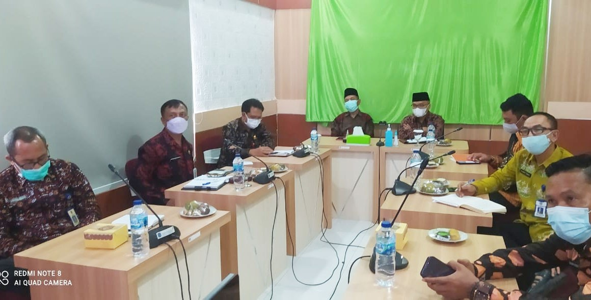 Plt Bupati Merangin Ikuti Rakornas TPID 2021