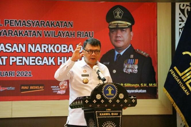 Terlibat Kasus Narkoba, 17 Petugas Lapas di Riau Dipecat dan Penjara