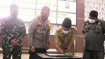 H Mashuri Tandatangani Zona Integitas WBK dan WBBM
