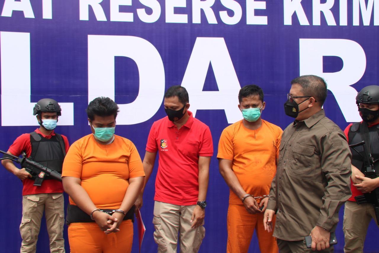 Polda Riau Mengungkap Pelaku Pembakaran Kendaraan di Tambusai Utara, Rohul