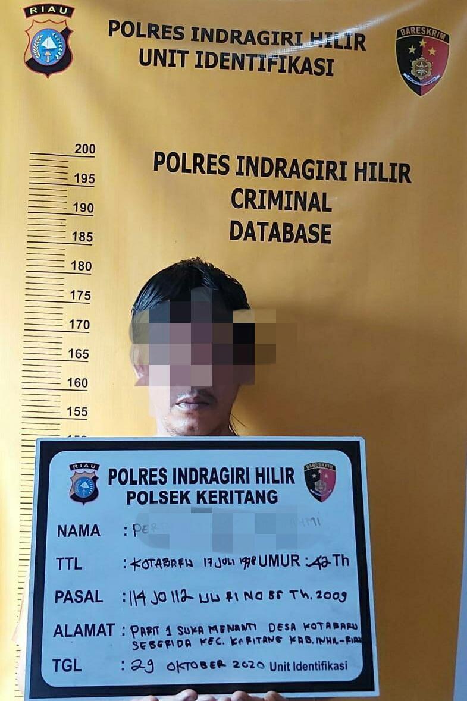 Tertangkap Membawa Sabu, Pria Paru Baya di Kotabaru Diringkus Polisi
