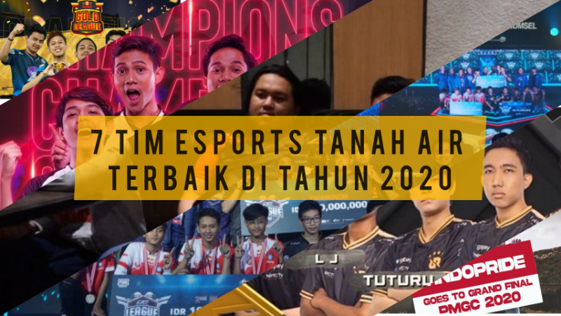 7 Tim Esports Derngan Performa Terbaik di Tahun 2020