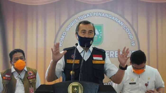 Gubernur Riau Positif Covid-19, Gejala Tak Enak Badan Usai Rapat DPRD
