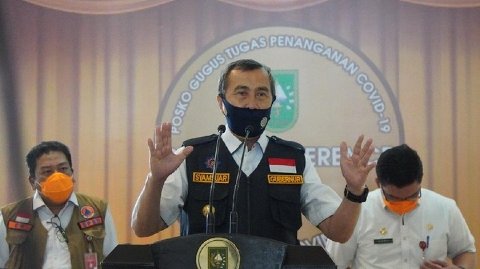 Gubernur Riau Minta Napi Positif Corona Alami Demam-Batuk Dirawat di RS
