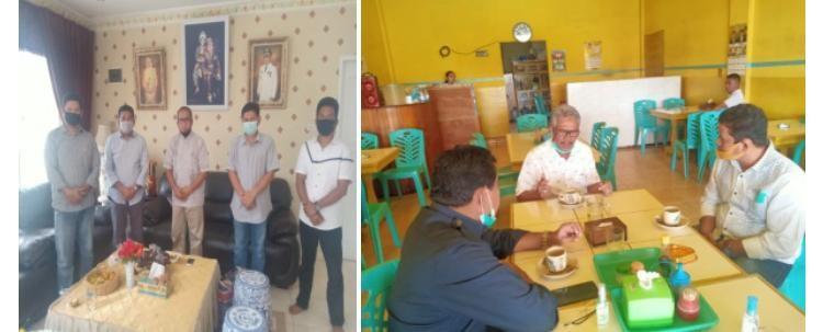 Polda riau silaturahmi Dengan tokoh politik kabupaten kuansing