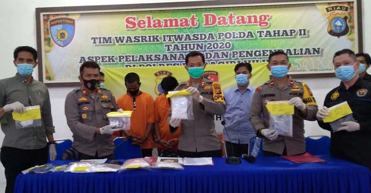 Polsek Keritang Ungkap Peredaran Narkoba di Kotabaru