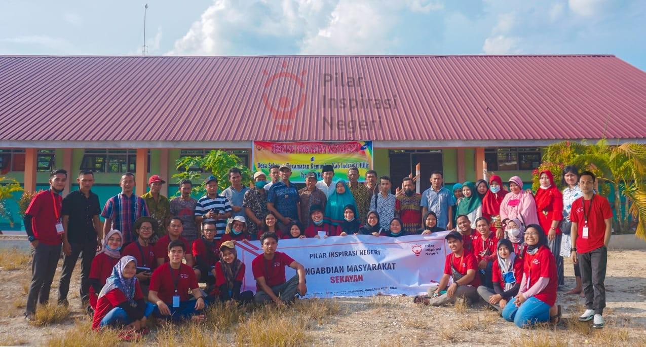 Pilar Inspirasi Negeri Laksanakan Kegiatan Pengabdian di Desa Sekayan, Kemuning