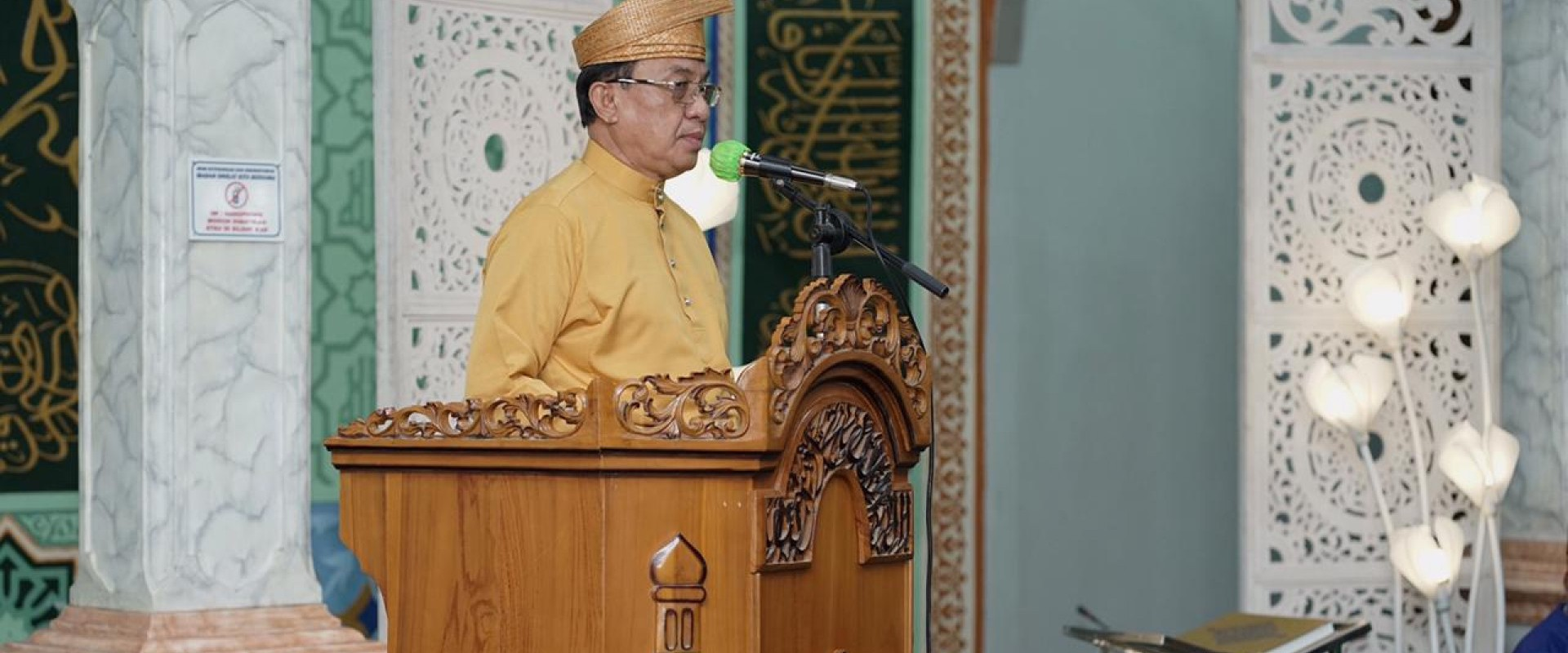 STQ Tingkat Kecamatan Tembilahan Secara Resmi Di Buka Bupati Inhil HM.Wardan