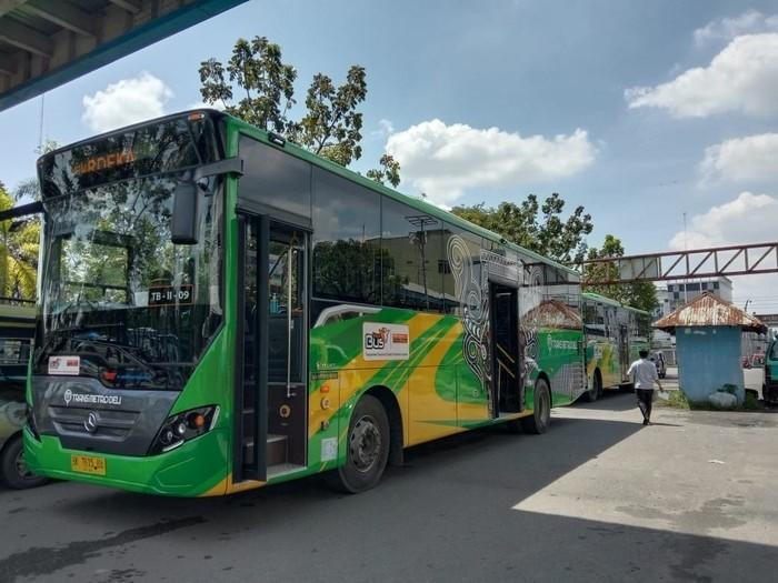 Uji Jalan di Medan, Bus Transmetro Deli Gratis hingga Desember 2020