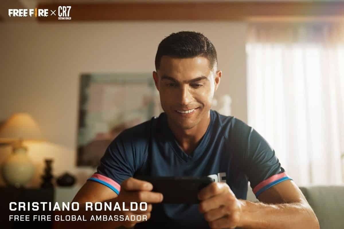 Cristiano Ronaldo Ajak Mabar Free Fire (FF) Joe Taslim!