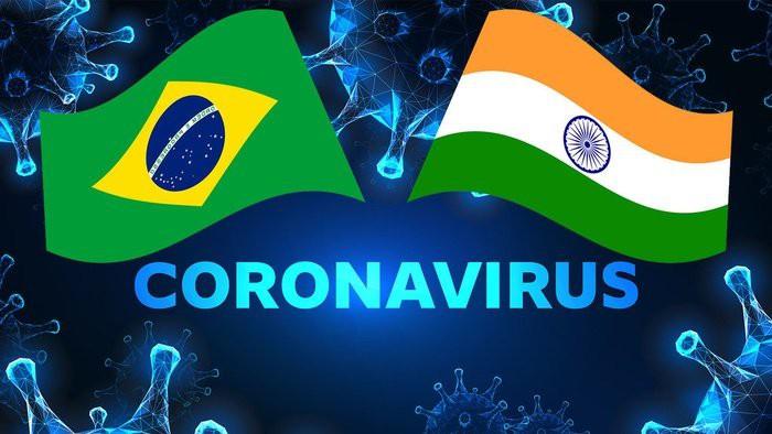 Berkaca dari India dan Brasil yang Semrawut Atasi Pandemi Covid-19