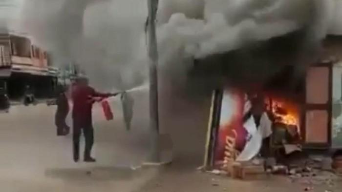 Pria Pembakar Istri hingga Tewas di Riau Pengangguran-Positif Sabu