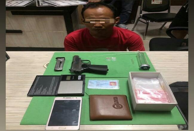 Polresta Pekanbaru Tangkap 6 Pelaku Diduga Sindikat Narkoba, Satu Orang Ditembak