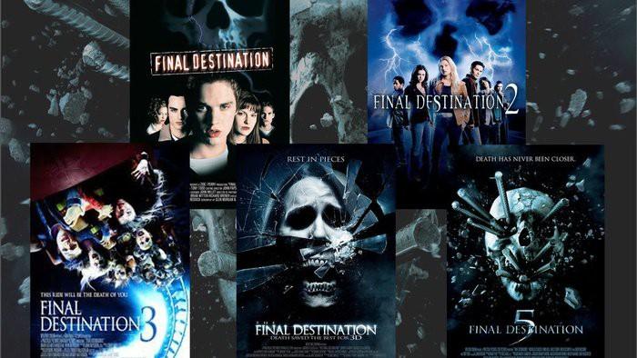 Final Destination 1-5 adalah Koran Lampu Hijau Berbahasa Inggris