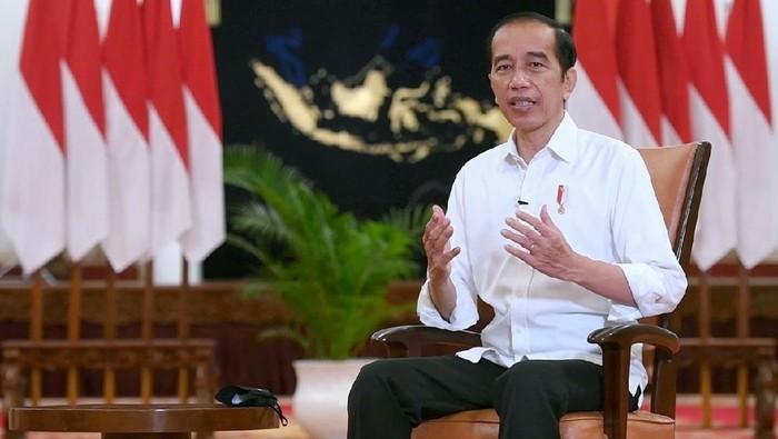 Ini Twit Pertama Jokowi di 2021, Bicara Vaksinasi COVID-19 Massal