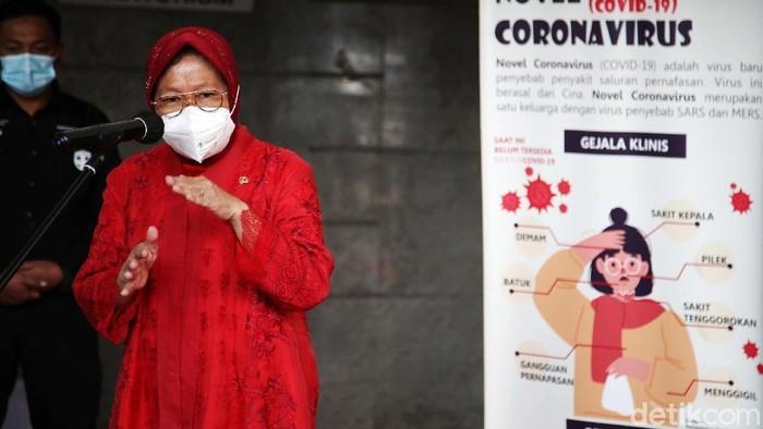 Mensos Risma: Bantuan Pemerintah Jangan buat Beli Rokok, Nanti Sakit